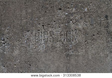 Old Dented Concrete Wall Grunge Grime Texture