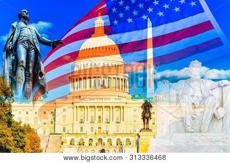 United States Capitol, Capitol Building,home Of The United States Congress And