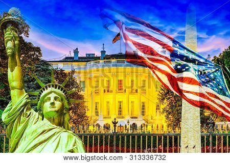 Washington, Usa,the White House .