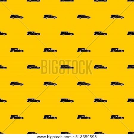 Hearse Pattern Seamless Vector Repeat Geometric Yellow For Any Design