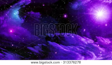 Abstract, Astronomy ,background, Black ,blue ,bright, Clouds, Space ,dark ,design ,bright Star, Gala