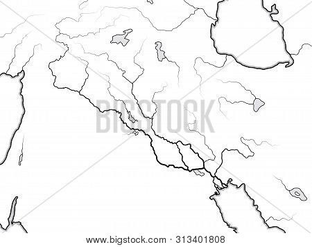World Map Tigris & Vector & Photo (Free Trial) | Bigstock