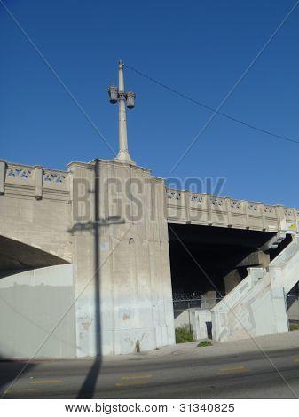 Bridge and Lamppost