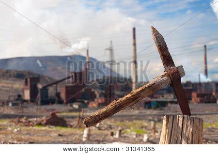 Basta! An old miner's pickax