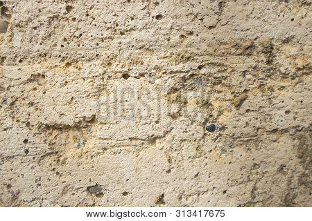 Concrete Wall Background Pattern. The Texture Of The Wall. Image For Background
