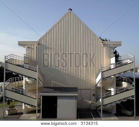 Metal Clad Building