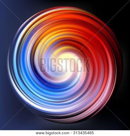 Creative Eddy Festival Happy Aqua Backdrop Of Vivid Multi Colored Glossy Curled Spraying Ripple Sphe