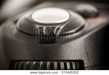 Closeup On Reflex Camera Mode Selection Dial