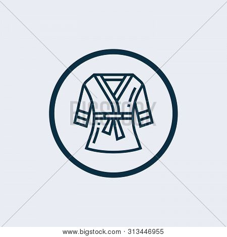 Bathrobe Icon Isolated On White Background From Fashion Style Collection. Bathrobe Icon Trendy And M