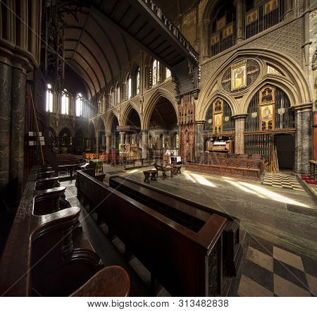 London, United Kingdom, 18th July 2019, Interior Of St Cuthberts Church In Earls Court