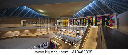 London, United Kingdom, 18th July 2019, Interior Of The Design Museum In Kensington