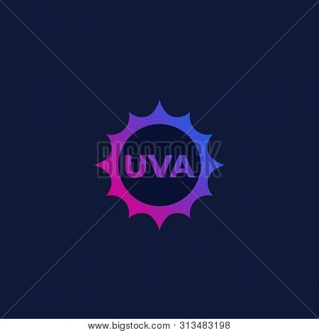 Uva Icon, Vector Sign, Eps 10 File, Easy To Edit