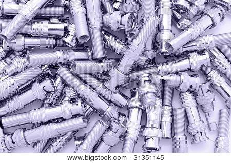 Many Bnc Connectors