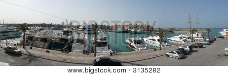 Panorama de la Marina El Gouna