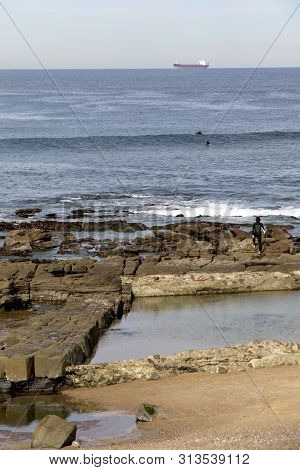 Old Saltwater Swimming Pool At Merewether Beach, Newcastle, Nsw, Australia