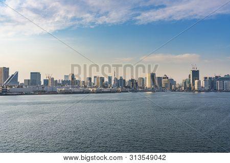 View Of Skyline Of Tokyo City In Japan