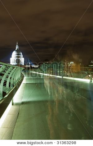 St. Paul's Cathedral From Millennium Bridge