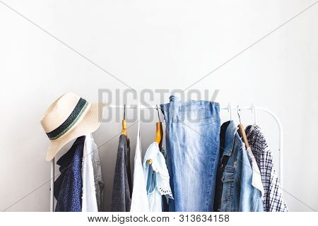Clothes On Open Cloth Choosing Clothes Nothing To Wear