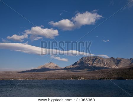 St Mary Lake In Glacier National Park