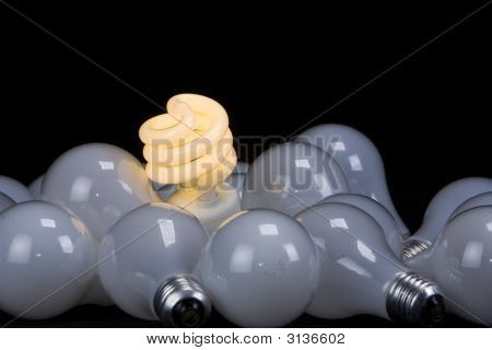 Twisty Light Bulb... Save The Planet