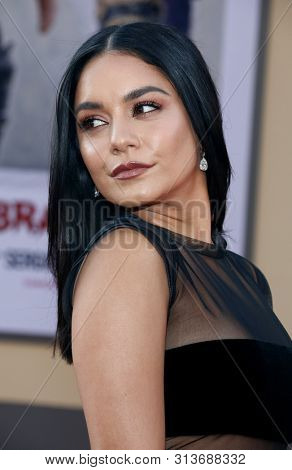 Vanessa Hudgens at the Los Angeles premiere of 'Once Upon a Time In Hollywood' held at the TCL Chinese Theatre IMAX in Hollywood, USA on July 22, 2019.