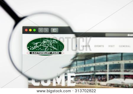 Richmond, Virginia, Usa - 26 July 2019: Illustrative Editorial Of Canterbury Park Holding Corporatio