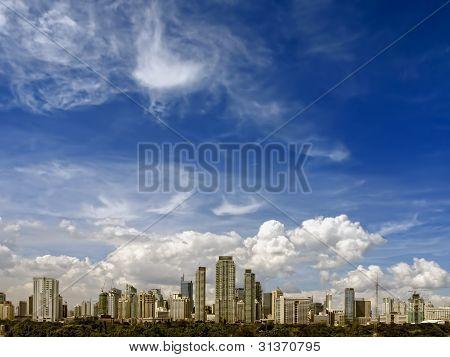 Makati Skyline