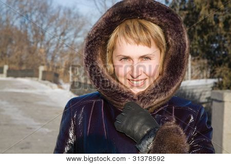 The Girl In Winter Park