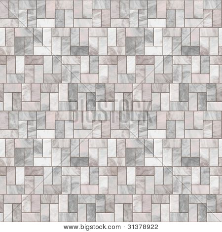 Stone Floor Seamless Pattern - Hyper Realistic Illustration poster