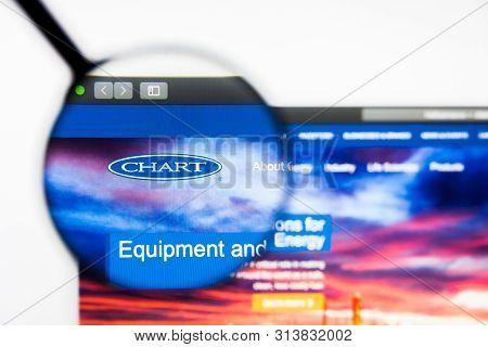 Richmond, Virginia, Usa - 27 July 2019: Illustrative Editorial Of Chart Industries Inc Website Homep