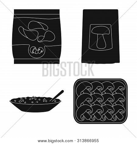 Vector Illustration Of Variety And Ingredient Icon. Collection Of Variety And Food Vector Icon For S