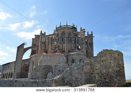 Wonderful Bottom Side Shot Of The Church Of Our Lady Of The Assumption Dated In The 12th Century On