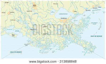 Detailed Map Vector & Photo (Free Trial) | Bigstock