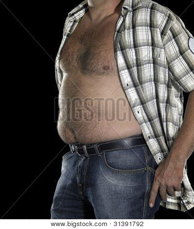 Potbelly Of A Man