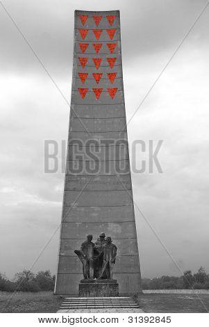 Victim memorial Sachsenhausen