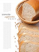 a bread and ears on the table poster
