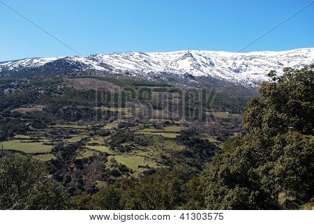 Sierra Nevada mountains, Las Alpujarras, Spain.