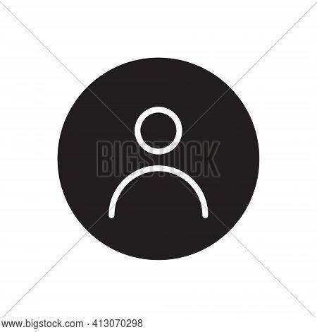 Social Media User Icon. Default Avatar Profile Image