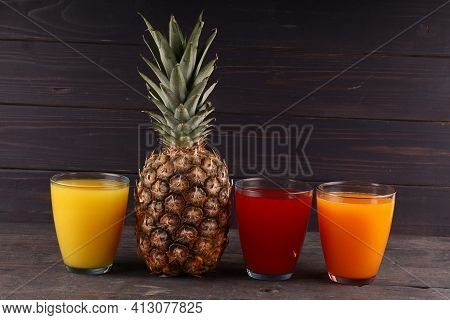 Exotic Delicious Fruit With Juice Exotic Fruits