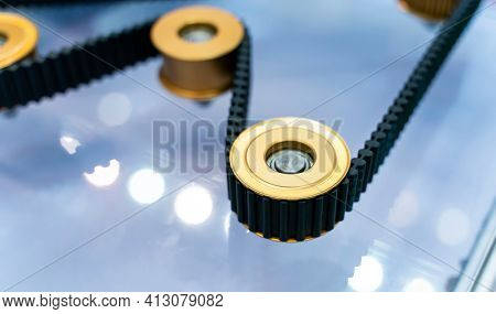 belt crawler casting industrial parts pulley