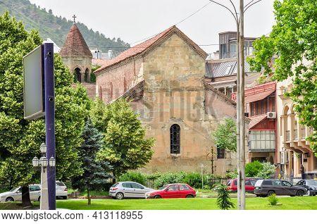 Anchiskhati - The Oldest Church In Tbilisi, Georgia