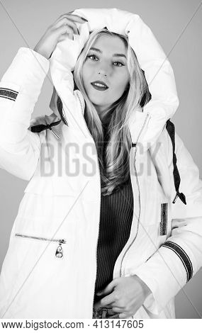 Fancy Winter Clothes. Girl Wear White Jacket. Not Every Jacket Is Ideal For Every Climate. Jacket Ha