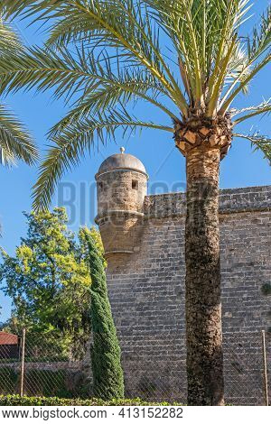 Bartizan Of The Bastion Of Sant Pere, Which Forms Part Of The Renaissance Walled Enclosure (walls Of