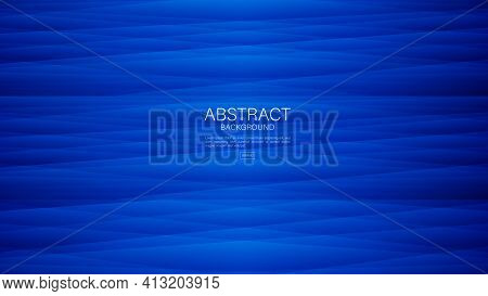 Blue Abstract Background, Polygon Backgrounds, Geometric Background Vector, Wave Background, Cover D
