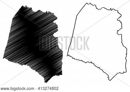 Union County, State Of South Carolina (u.s. County, United States Of America, Usa, U.s., Us) Map Vec
