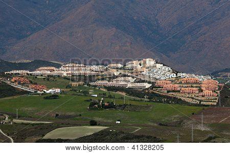 Urbanisation At The Costa Del Sol, Spain