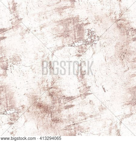 Pale Dirt Grunge Wall. Graphic Vintage Background. Art Stone Surface. Abstract Paper. Ink Retro Crac