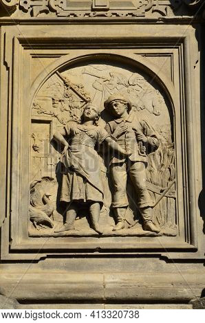 Fountain Of Jan Von Werth. Cologne. Germany