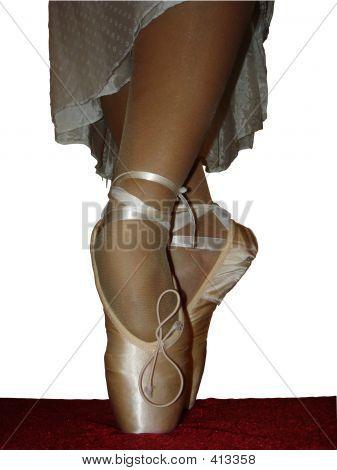 Ballet Slippers Cross