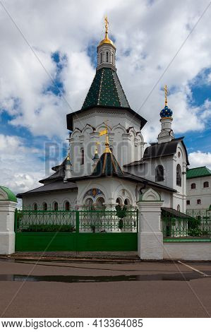 Church Of St. Nicholas The Wonderworker In The Istra District Of The Moscow Region